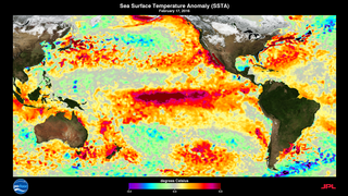 Link to Related Story entitled: ENSO Sea Surface Temperature Anomalies: 2015-2016
