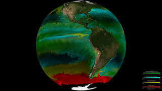Link to Recent Story entitled: Modeled Phytoplankton Communities in the Global Ocean