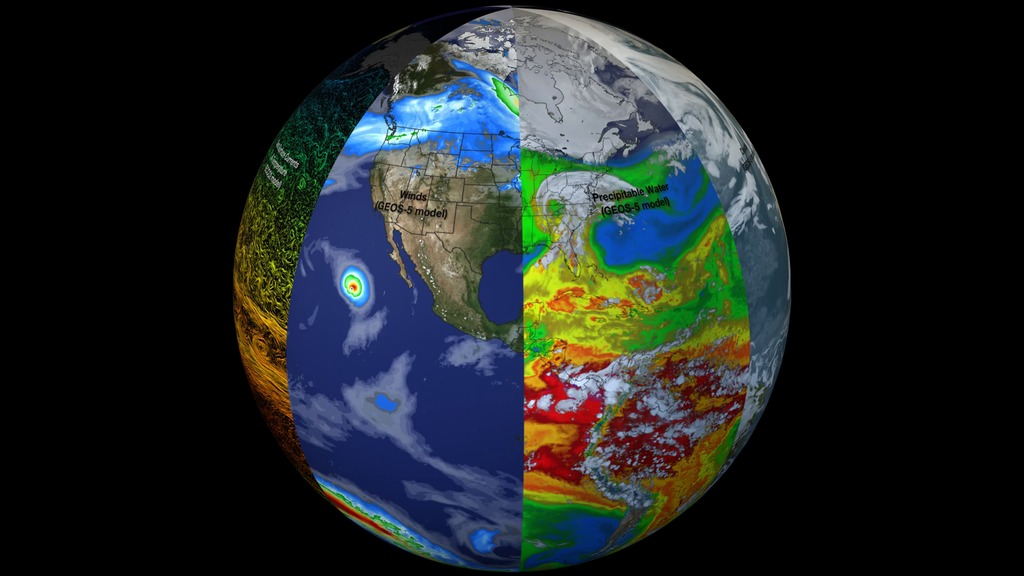 Hyperwall  Earth  A System Of Systems