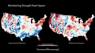 Link to Recent Story entitled: High-Resolution Soil Moisture Maps