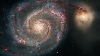 Link to Recent Story entitled: The Whirlpool Galaxy from Hubble