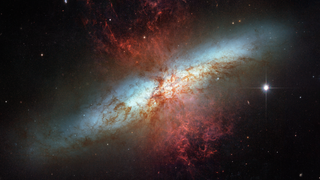 Link to Recent Story entitled: Starburst Galaxy Messier 82 from Hubble