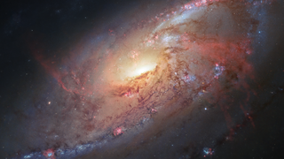 Link to Recent Story entitled: Spiral Galaxy Messier 106 from Hubble