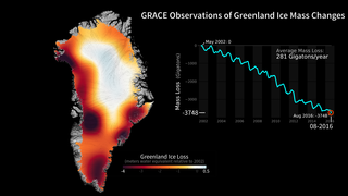 Link to Recent Story entitled: Greenland Ice Loss 2002-2016