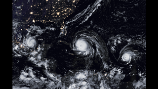 Link to Recent Story entitled: A Menacing Line of Hurricanes