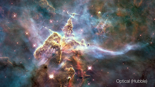 Link to Popular Story entitled: Pillars in the Carina Nebula (HH901)