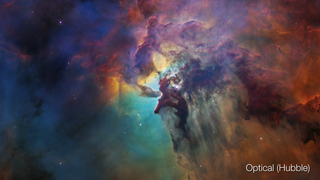Link to Recent Story entitled: Lagoon Nebula: Visible and Infrared Views
