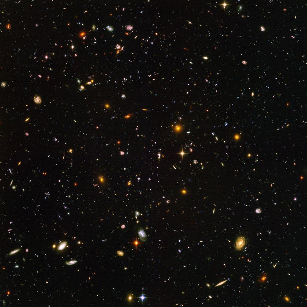 Hyperwall Hubble Ultra Deep Field