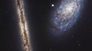 Link to Recent Story entitled: Spiral Galaxy Pair NGC 4302 and NGC 4298 from Hubble