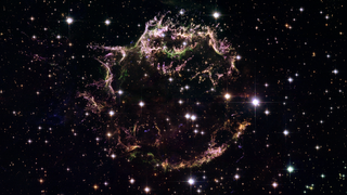 Link to Recent Story entitled: Supernova Remnant Cassiopeia A from Hubble