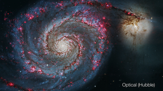 Link to Recent Story entitled: The Whirlpool Galaxy: Visible and X-ray Views