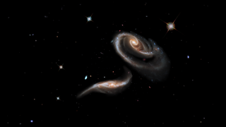 Link to Popular Story entitled: A Rose of Galaxies: Interacting Galaxies Arp 273
