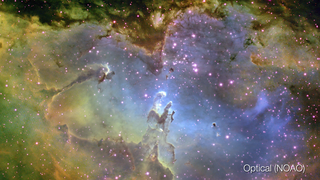Link to Popular Story entitled: Eagle Nebula: M16 Wide