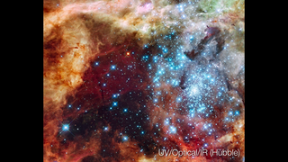 Link to Related Story entitled: 30 Doradus: A Massive Star-Forming Region