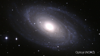 Link to Recent Story entitled: Messier 81 in Multiple Wavelengths