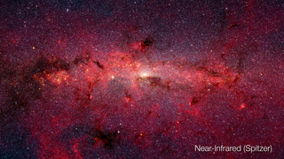 Link to Recent Story entitled: Galactic Center in Multiple Infrared Wavelengths