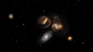 Link to Recent Story entitled: Stephan's Quintet
