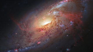 Link to Related Story entitled: Spiral Galaxy M106