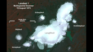Link to Related Story entitled: Landsat View of a Disappearing Glacier in Iceland